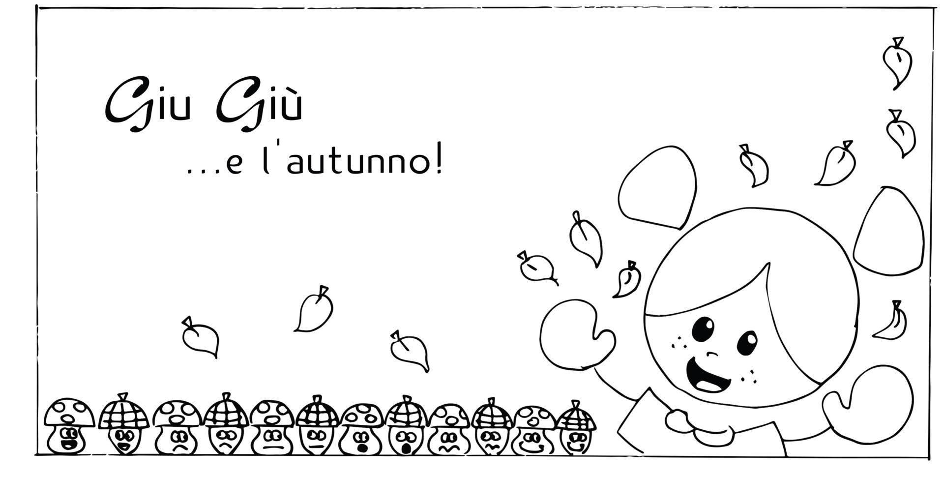 disegni da colorare - autunno