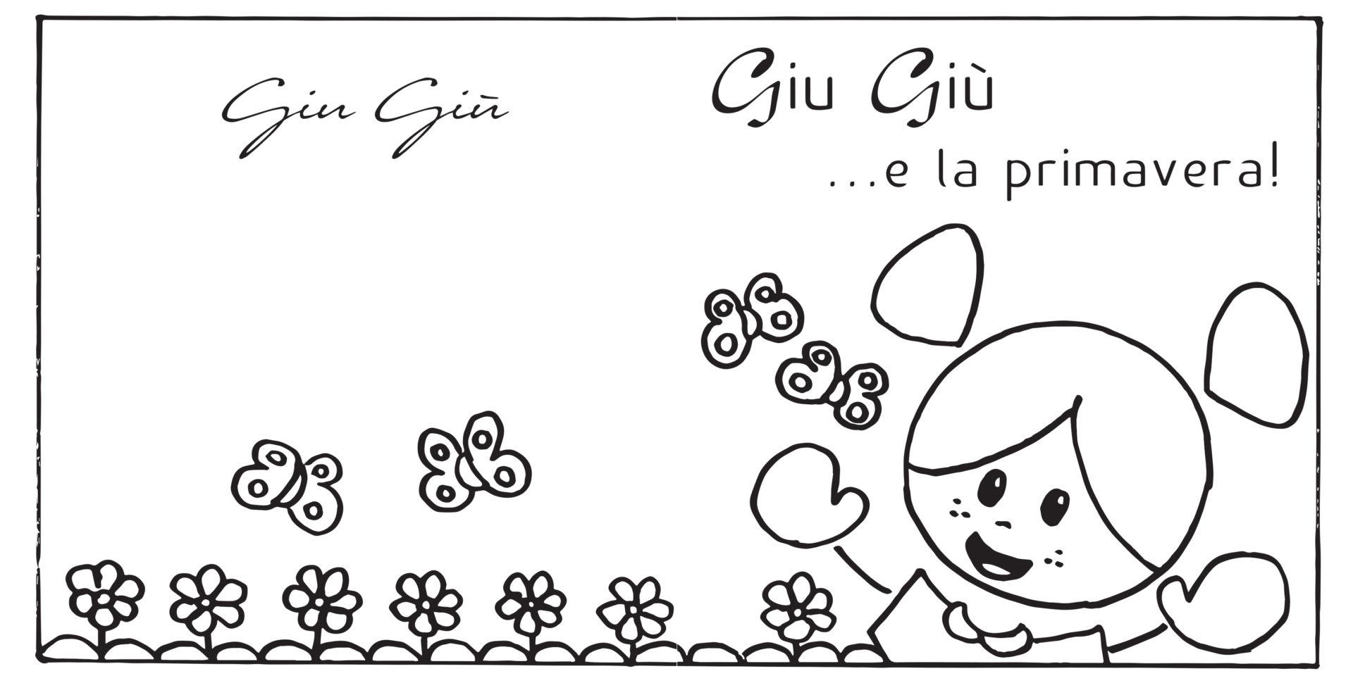 disegni da colorare - primavera